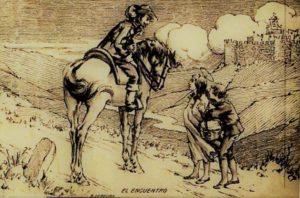 Postal de avila Antonio Veredas1922