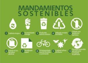 Mandamientos para el desarrollo sostenible