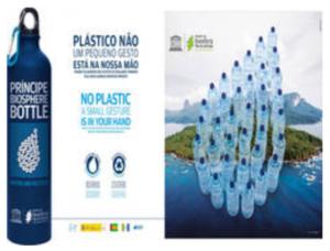 Blog Iniciativas botella de la biosfera Isla principe