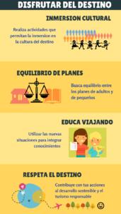 Consejos para viajar con niños DIsfrutar del destino