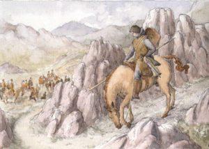 Hazaña de Zurraquin Sancho defendiendo unos pastores en Ávila