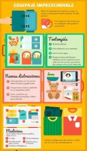 Viajar con niños Preparar lo necesario para viajar con niños