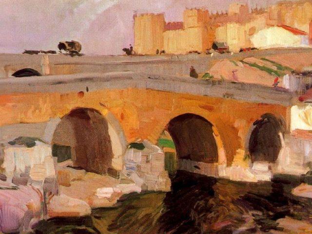 Joaquín_Sorolla,_El_Puente_Viejo_de_Ávila