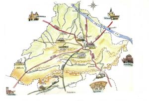 Plano de asentamiento de los Vetones ExploraAvila