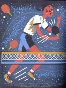 Ilustracion de Deng Yaping por Rachel Ignotofsky