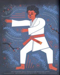 Ilustracion de Keiko Fukuda por Rachel Ignotofski